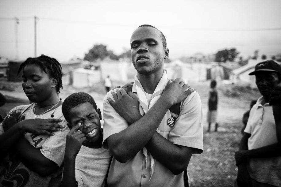 Haiti, Port au Prince, march 2010.
