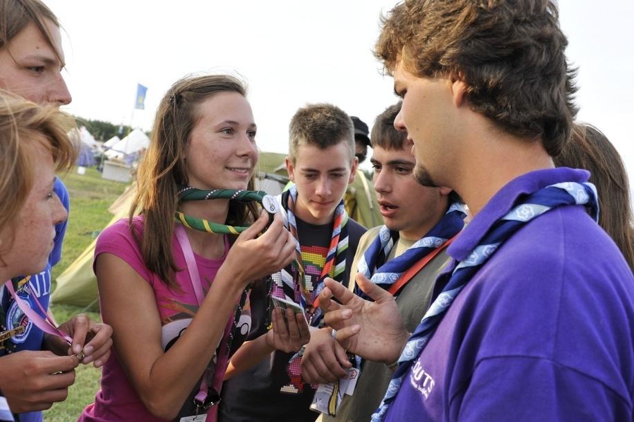 27 juillet 2011, 22ème Jamboree Scout Mondial à Rinkaby, Kristianstad, Suède, Photo © Jean-Pierre POUTEAU 2011