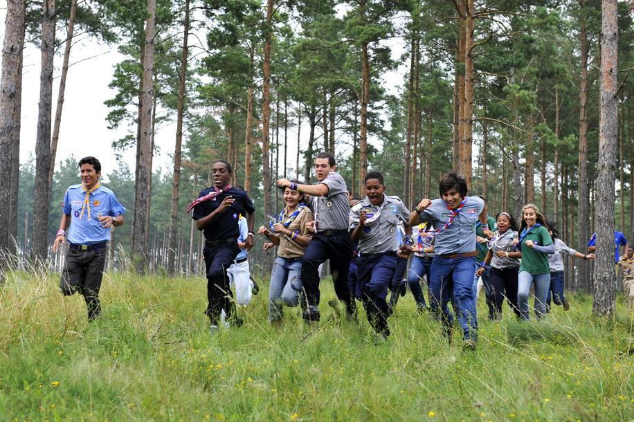 5 août 2011, 22ème Jamboree Scout Mondial à Rinkaby, Kristianstad, Suède, Photo © Jean-Pierre POUTEAU 2011