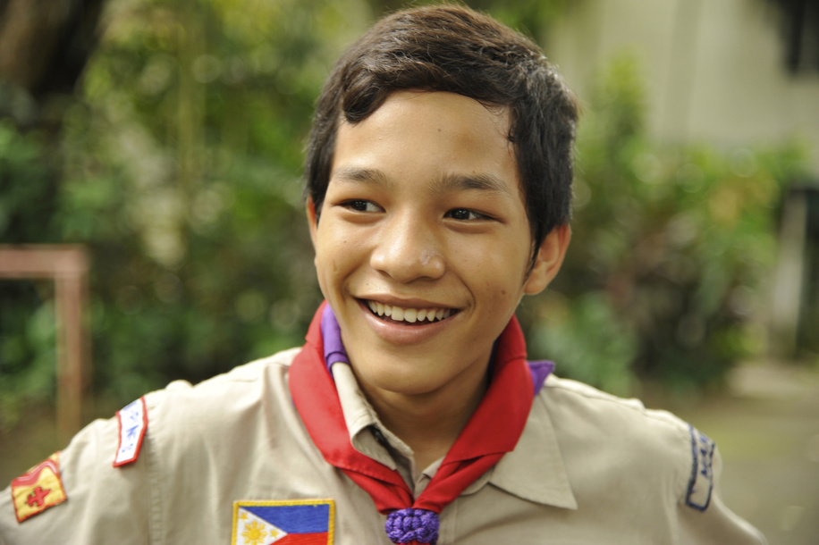 Boy Scouts of the Philippines work with Street children under the flagship project Ticket to Life