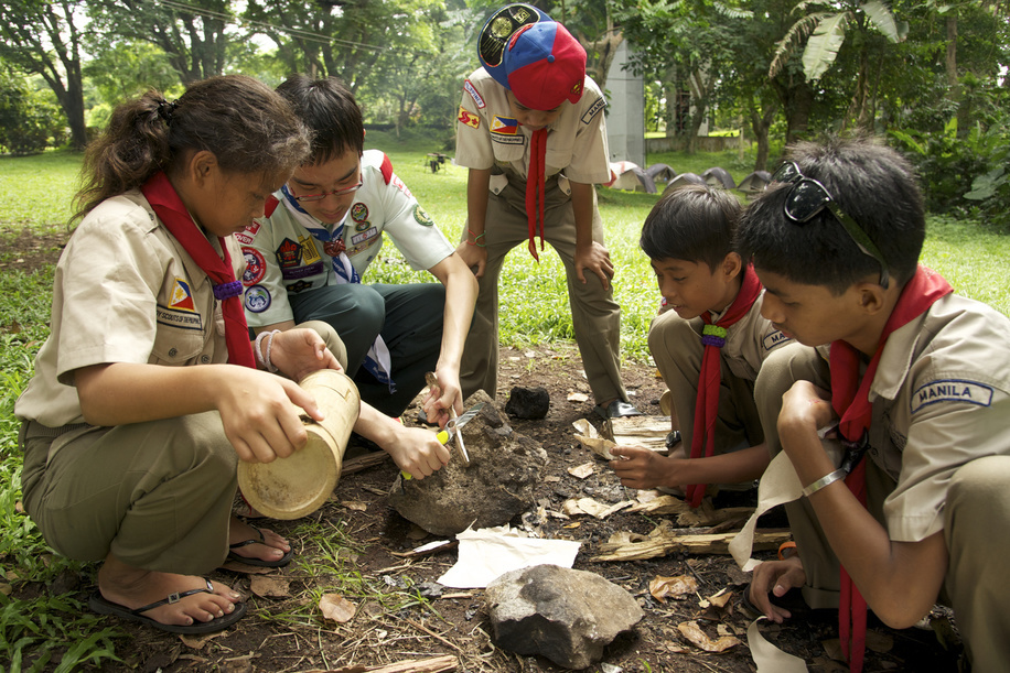TICKET TO LIFE is a flagship project currently being implemented by the Asia-Pacific Regional Office of the World Organization of the Scout Movement. This project integrates street children to society, through Scouting