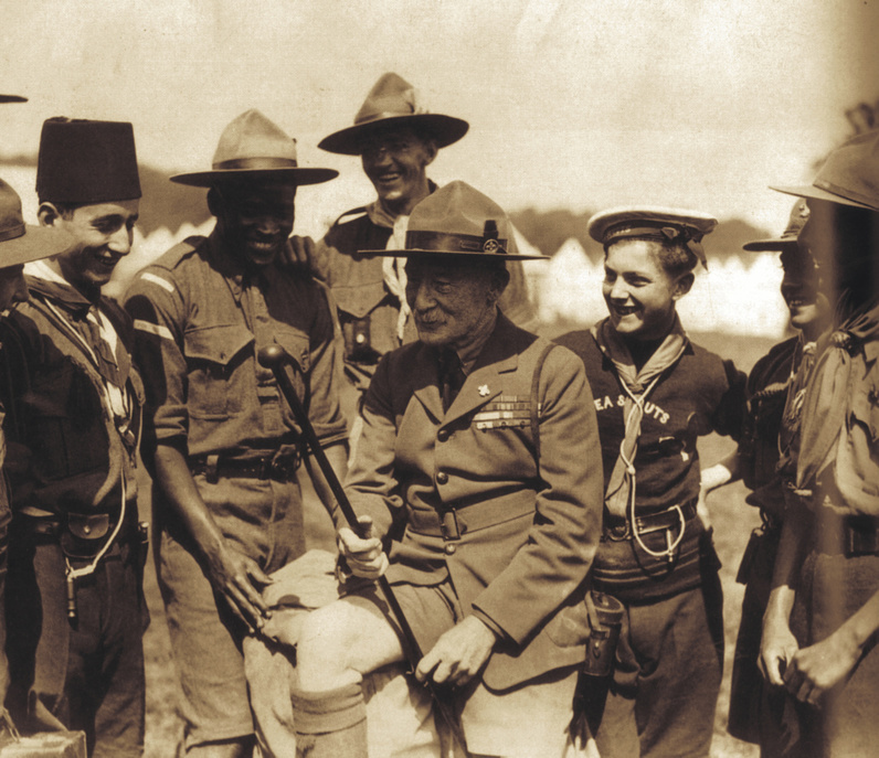 1920 Baden-Powell acclaimed Chief Scout of the World. 