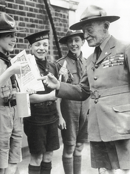 1937 - B-P buys a souvenir programme from
