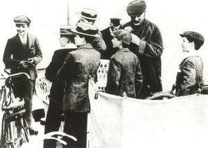 1907 - Experimental camp,Browsnea Island, August 1-9 Camp expérimental sur l'Ilede Brownsea,1- 9 août