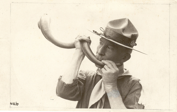 Baden Powell et la corne, 1929