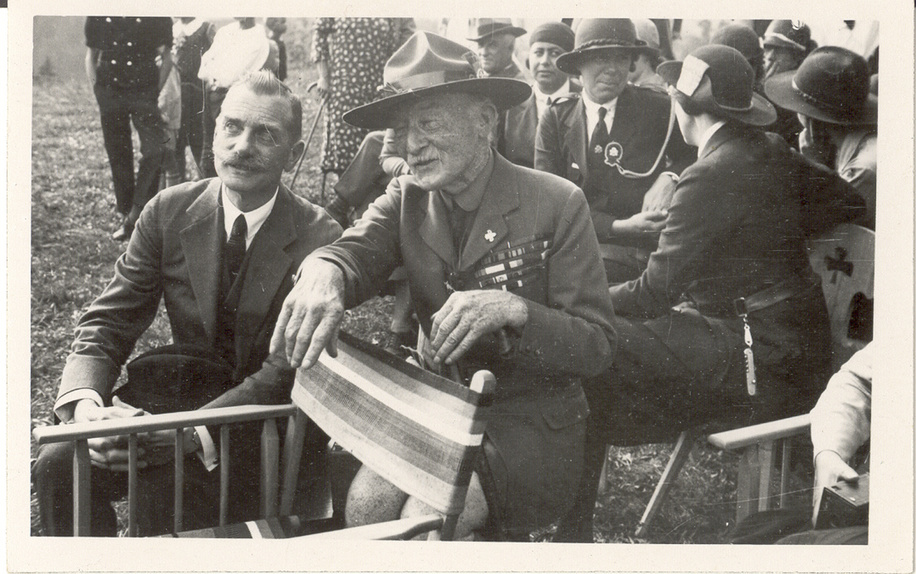 Baden Powell in Adelboden, 1932