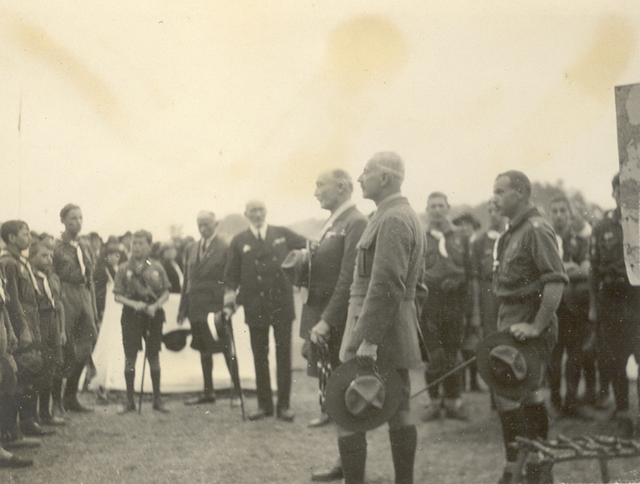 BP at the  Jamboree 1924