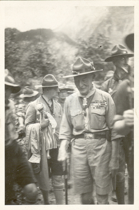 The Baden Powell Life, 1932 BP Thé De Bonstetten