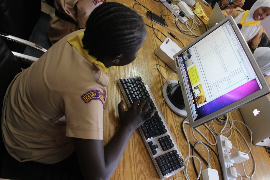 58th JOTA and 19th JOTI event held at the World Scout Bureau Africa Support Centre in Nairobi on Saturday 17th October 2015