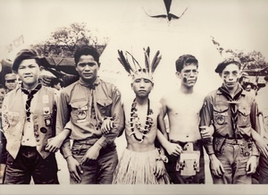 Scout-O-Rama by the Scouts of China (Taiwan) and the Boy Scouts of America.  The photo was taken on 8 May 1966.