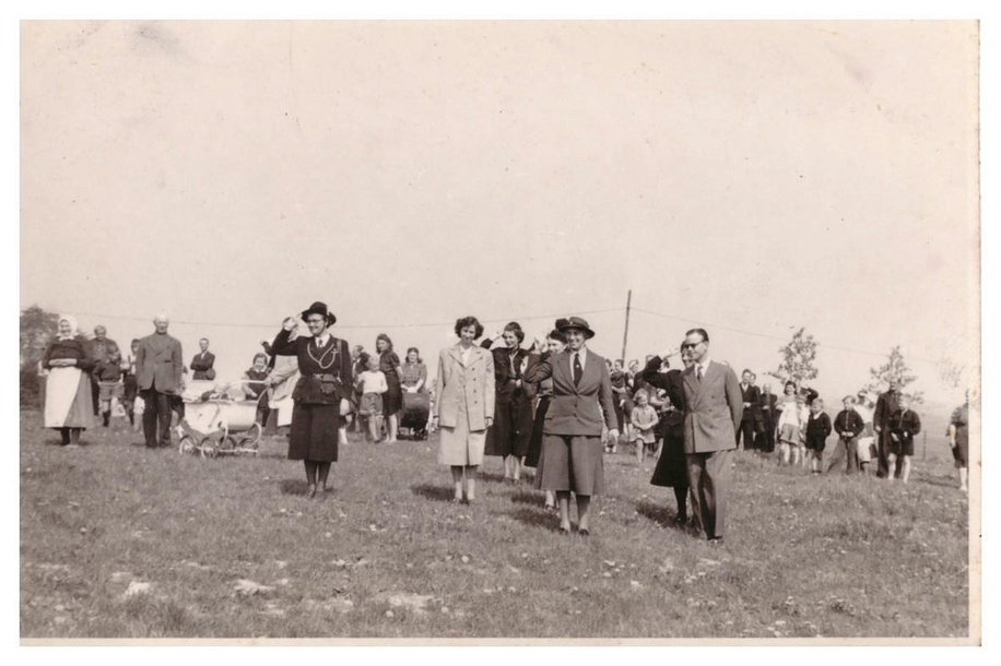 Visit of Lady Baden-Powell to Denmark. The other person in one of the photos could be the Duchy of Finland, Helvi Sipila.Other images of Danish Scouts and Guides1946-49.