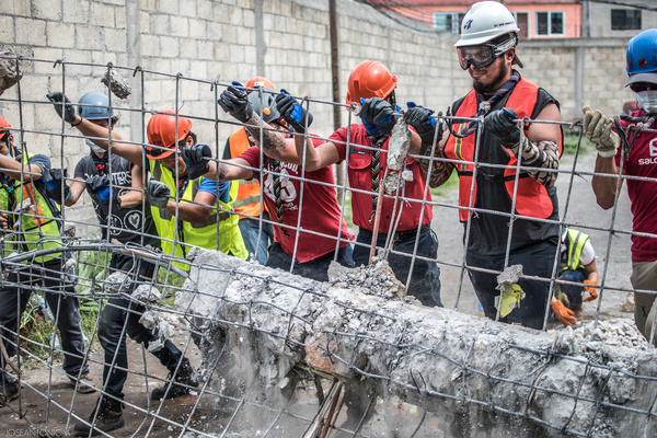Scouts of Mexico took immediate actions to assist the population in rural areas after the earthquake of 19th September.