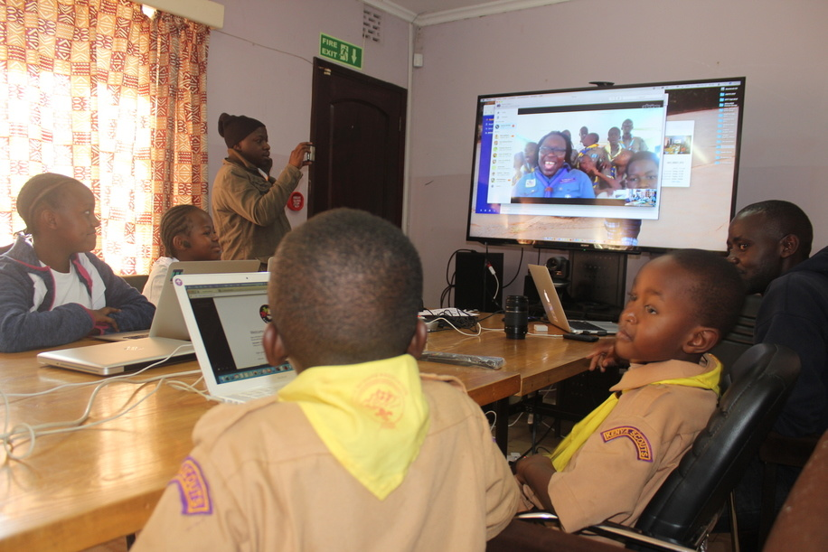 2017 JOTA-JOTI Station hosted by the World Scout Bureau Africa Support Centre
