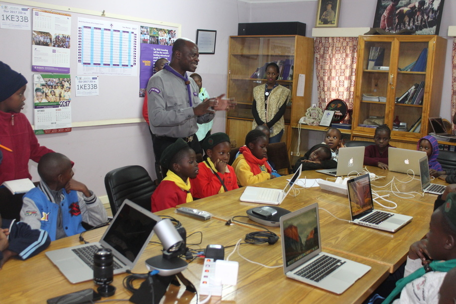 2017 JOTA-JOTI Station hosted by the World Scout Bureau Africa Support Centre A visit conducted by a delegation of World Scouting, Africa Scout Region and Kenya Scouts Association to assess the situation of Scouting with refugees at Dadaab Refugee Camp in Dadaab Sub County, Garissa County in Kenya.