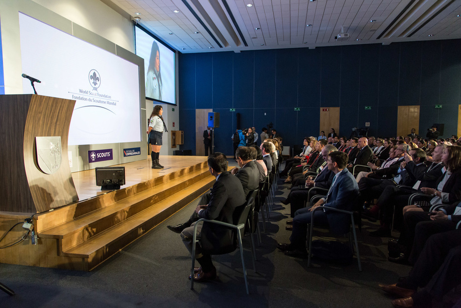 Jessica Perez – Disaster Response in Mexico City  World Scout Foundation - Investor Conference 2018 Mexico, Universidad Panamericana UP - Mexico