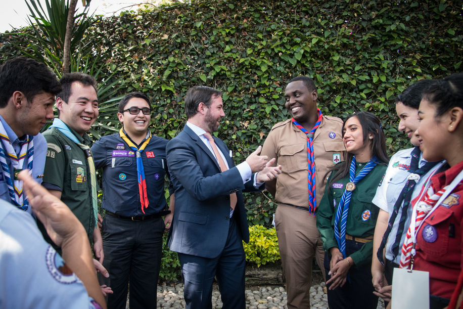 During the World Scout Foundation - Investor Conference, the participants and Scouts had the opportunity to meet and tell their stories to the Investors.