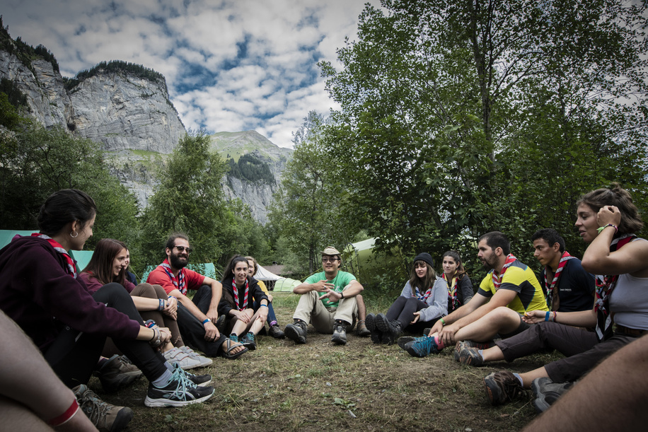 International Roverweek, Centenary edition, Kandersteg
