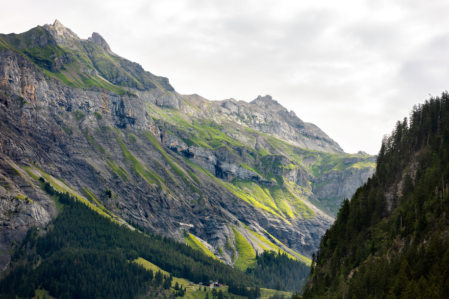 Kandersteg, mountains, landscape, Switzerland