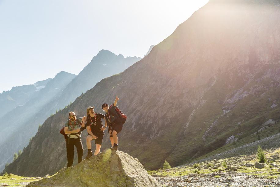 On the Trail-Outdoor adventure Loschenpass Hike