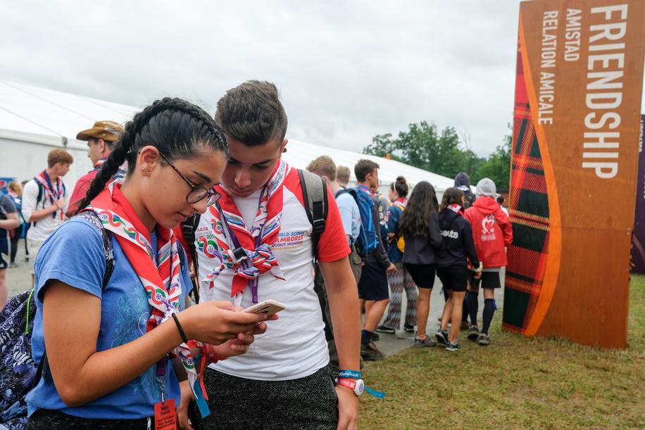 24th World Scout Jamboree, in Summit Bechtel Reserve, West-Virginia, USA. Photo © Jean-Pierre POUTEAU 2019