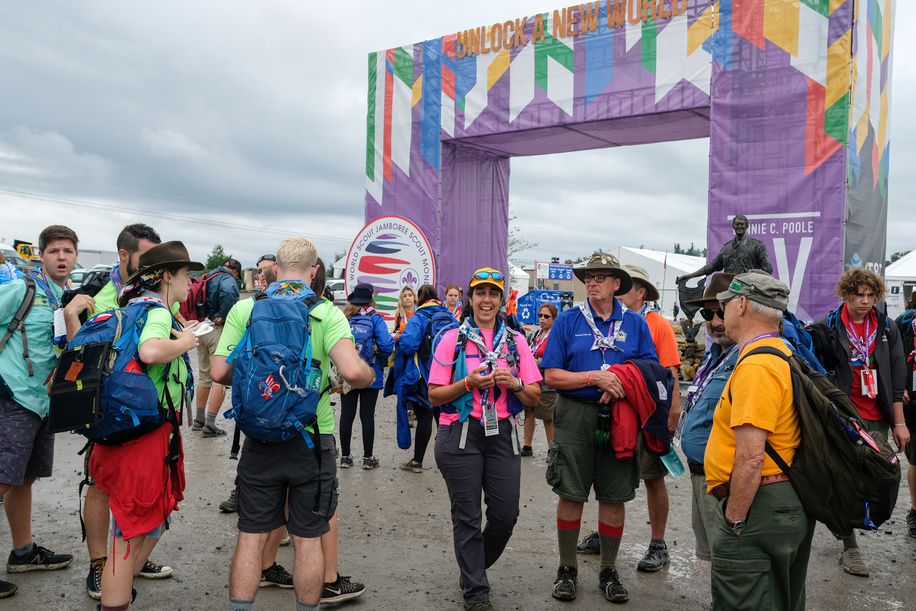24th World Scout Jamboree, in Summit Bechtel Reserve, West-Virginia, USA. Photo © Jean-Pierre POUTEAU 2019