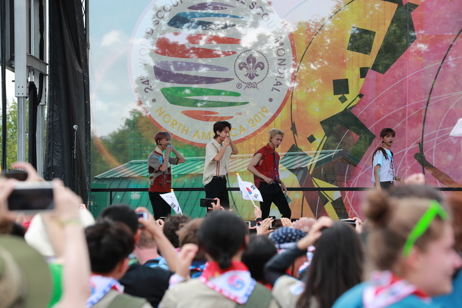 NCT Dream(WSF's Ambassador) Concert Opening Ceremony of World Scout Jamboree 2019