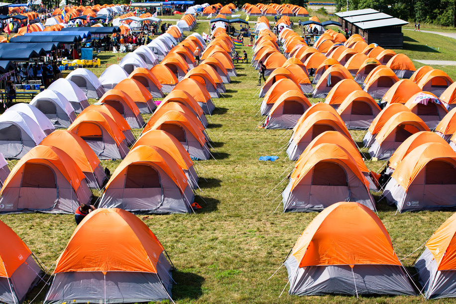 A celebration of cultural day at the 24th World Scout Jamboree