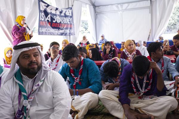 Islam Jumu'ah Prayer at Faith and Beliefs area.