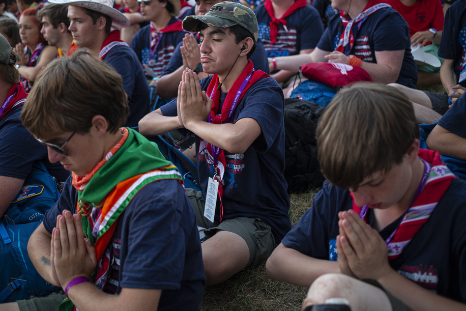 Unity Show at the 24th World Scout Jamboree