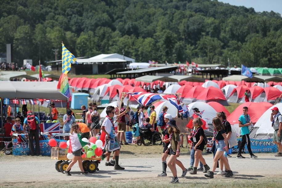 Jamboree Activities, Cultural Day.