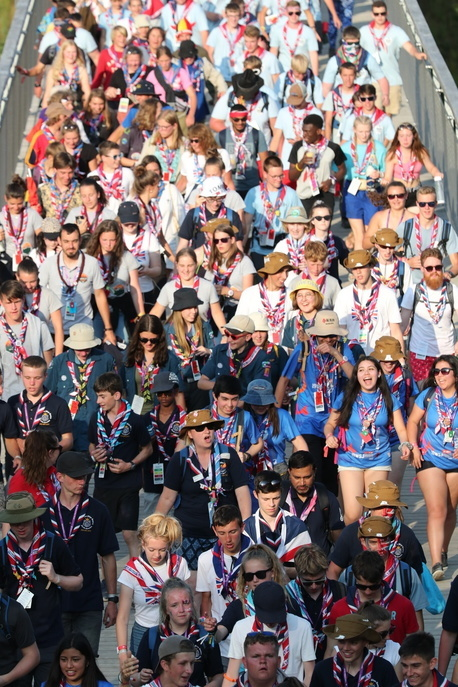 Unity Show 24th World Scout Jamboree, North America 2019