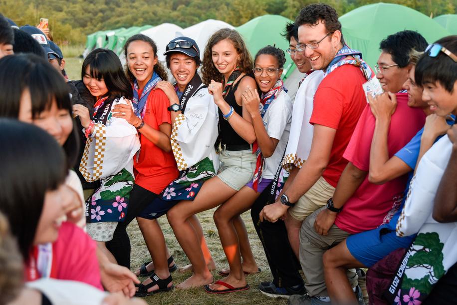 24th World Scout Jamboree, in Summit Bechtel Reserve, West-Virginia, USA - Vie des sous-camps. Photo © Jean-Pierre POUTEAU 2019
