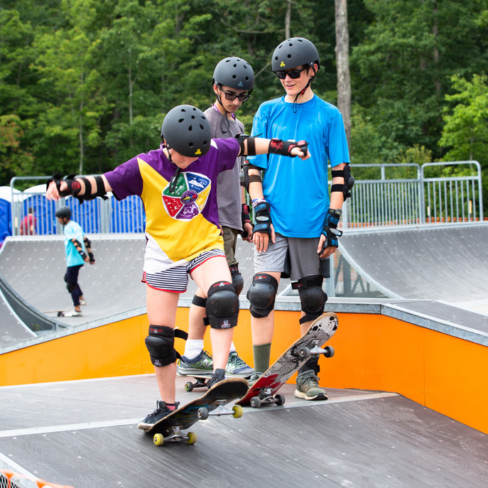 Skateboarding at the World Scout Jamboree
