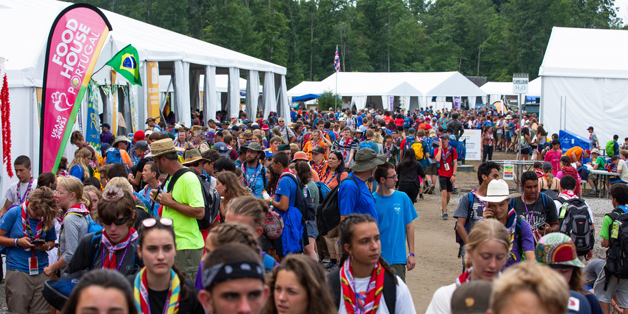 Every day life at the World Scout Jamboree