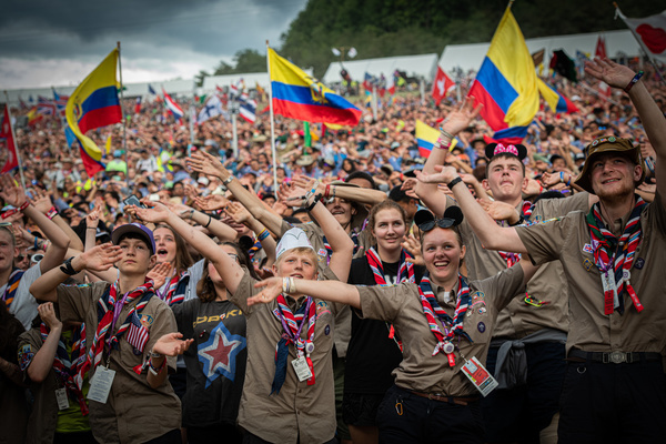 Closing ceremony of the 24th World Scout Jamboree, North America 2019 West Virginia