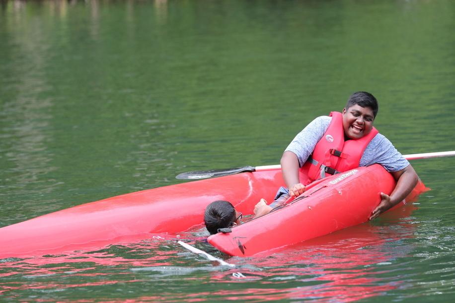 Scout Activities, Kayak