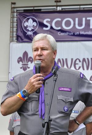 Luc Panissod, Secretary General of WOSM