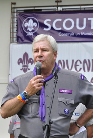 Luc Panissod, Secretary General of WOSM