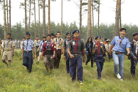 Scouts from the Operation One World