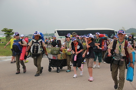 Japanese scouts are arrival in 23WSJ