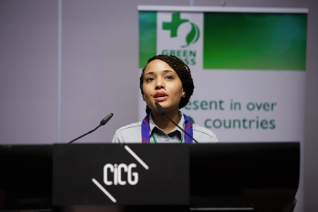 Youth Leadership for the Environment Award, Green Cross Conference, 6-7 October 2015