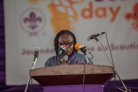 Africa Scout Day Celebrations in Accra Ghana on 12 March 2016