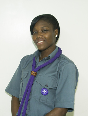 Pamela Akplogan Benin Chairperson, Youth Advisors to the Africa Scout Committee (2015-2018)