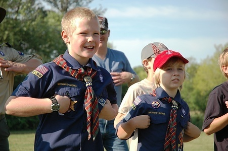 Summer Camp in Phillippo Scout Reservation, 2009.