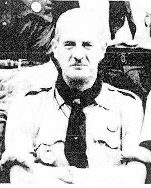 Mr. Jean SALVAJ,  Member, International Committee  Chairman up to 20th World Scout Conference, 26 Sept. - 3 Oct. 1965, in Mexico. Jean Salvaj died on 8 June 1965.  Former International Commissioner, Switzerland