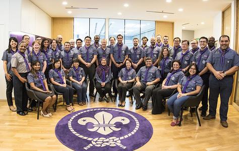 World Scout Bureau Staff