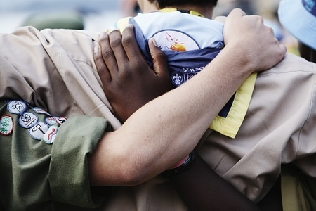 Scout Centenary in Brownsea island, UK Diversity & Inclusion in Scouting