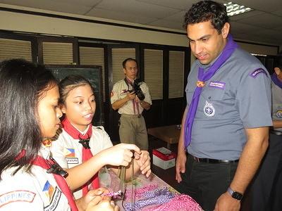 WOSM SG visit