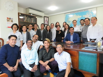 WOSM SG Ahmad Alhendawi visits Asia-Pacific Support Centre in Manila, Philippines