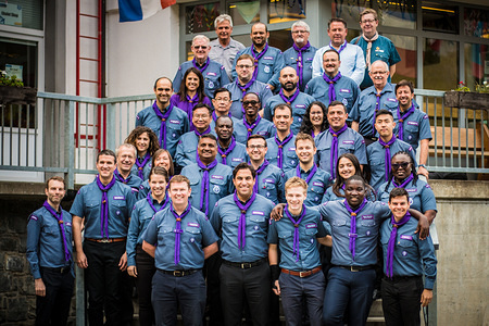 The World Scout Committee is meeting in Kandersteg International Scout Center in Switzerland